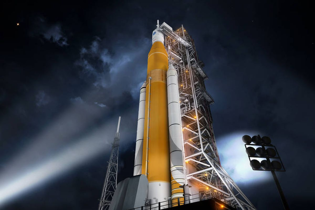 Space Launch System failed